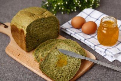 面包机做吐司-抹茶吐司