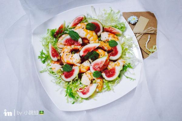无花果虾仁沙拉#每道菜都是一台时光机#的做法