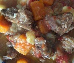 牛筋土豆的做法