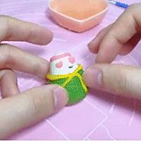 宝宝主食系列~粽子馒头的做法图解7