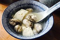低卡极简零失误 牡蛎豆腐汤的做法