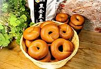 健康主食面包~黑全麦贝果的做法