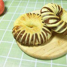 松软豆沙面包圈