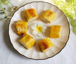 #520,美食撩动TA的心!#无敌简单的香蕉土司卷的做法