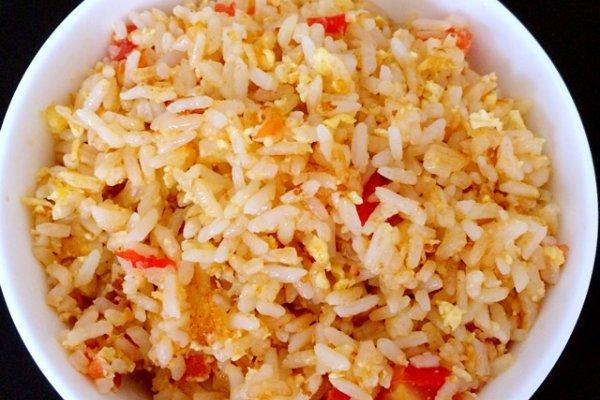 【图】西红柿炒饭鸡蛋_西红柿营养鸡蛋的菜谱食谱炒饭的鲜藕图片