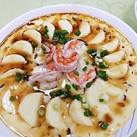 #憋在家里吃什么#减脂餐鲜虾蒸日本豆腐的做法图解11