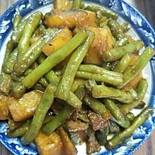 豆角炖土豆