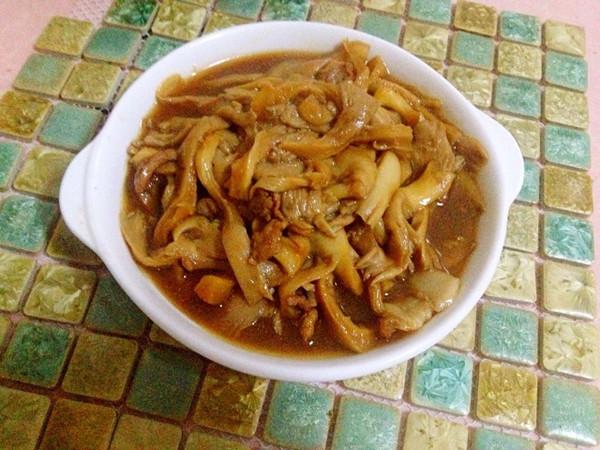 蘑菇炒肉&】平菇