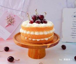#一道菜表白豆果美食#车厘子裸蛋糕的做法