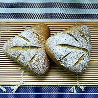抹茶麻薯豆沙三角欧包的做法图解8