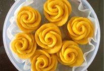 黄玫瑰奶香红薯馒头的做法