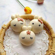 #年味十足的中式面点#小兔馒头
