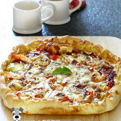 自制芝心披萨