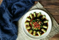夏季必备凉菜-凉拌黄瓜卷的做法