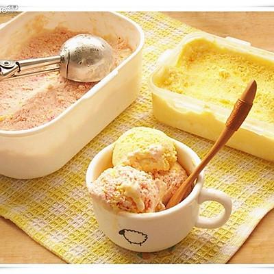 果味冰淇淋:草莓柠檬味, 芒果味