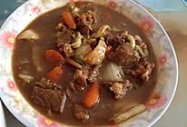 大白菜炖牛肉的做法