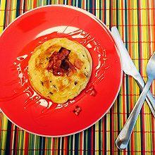 培根煎饼 bacon pancake