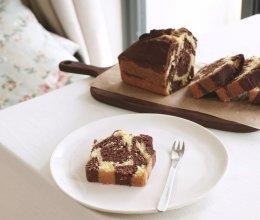 长颈鹿花纹 磅蛋糕(视频菜谱)的做法