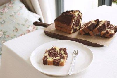 长颈鹿花纹 磅蛋糕(视频菜谱)
