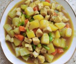 土豆鸡肉咖喱的做法