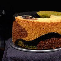 【迷彩戚风蛋糕】——COUSS CO-537A烤箱出品