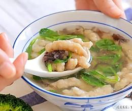 肉丸紫菜鲜汤 宝宝辅食食谱的做法