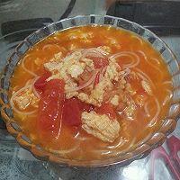 营养早餐西红柿鸡蛋面的做法图解1