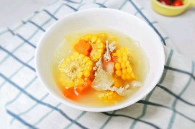 12M+羊肉玉米冬瓜汤:宝宝辅食营养食谱菜谱