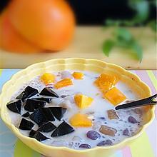 椰浆芒果芋圆