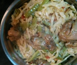鸡肉焖面(内蒙古鄂前旗)的做法