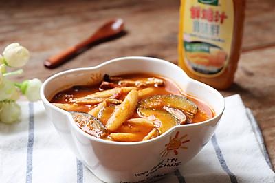 腌番茄面鱼儿#太太乐鲜鸡汁蒸鸡原汤#