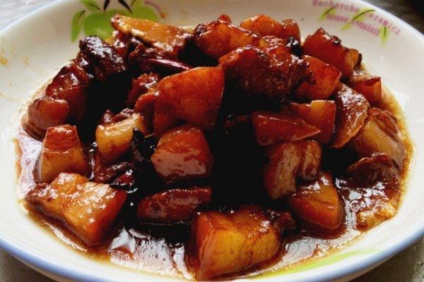 懒人版秘制红烧肉—豆果菁选酱油试用菜谱六的做法