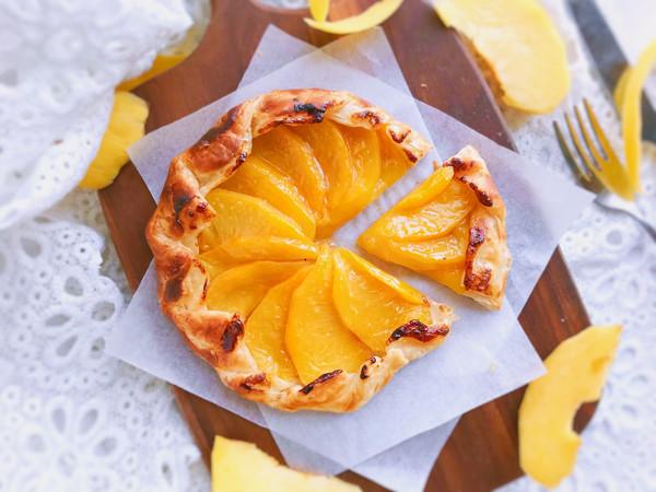 法式黄桃馅饼/派—快手版#秋天怎么吃#的做法