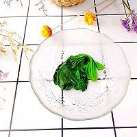 #换着花样吃早餐#快手营养早餐【菠菜火腿鸡蛋饼】的做法图解10