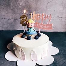 【奶油蛋糕】独角兽色夹心蛋糕