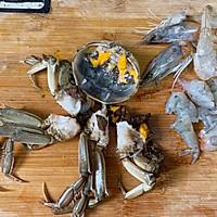 #好吃不上火#螃蟹年糕汤的做法图解1