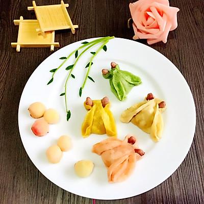 花样蒸饺(知了,金鱼)
