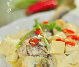 黄花鱼烧豆腐的做法
