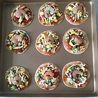 饺子皮版披萨的做法图解6