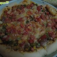 微波炉自制披萨