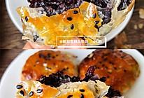 黑米馅料手抓饼的做法