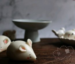 肥肥的小老鼠馒头的做法