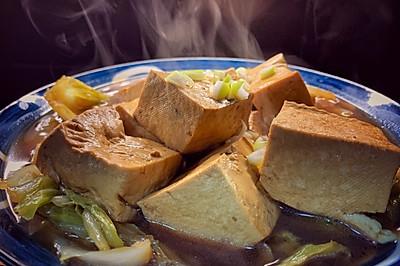 家常白菜炖豆腐|豆腐香白菜甜|超级简单详细