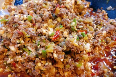 泡椒松茸牦牛肉酱