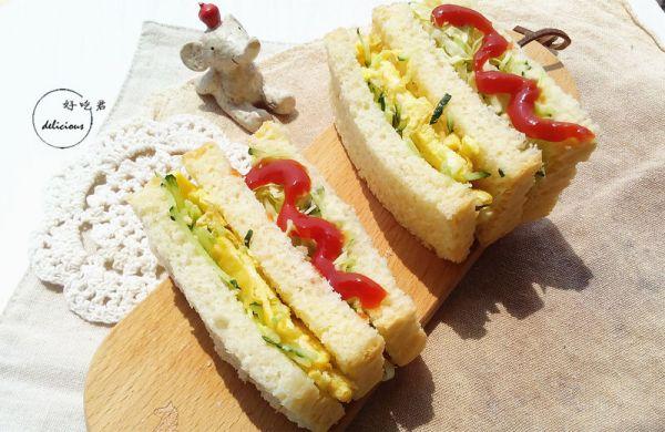 蔬菜三明治