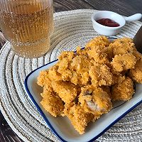 #肉食主义狂欢#微波炉盐酥鸡•无油低卡减脂小零食的做法图解5