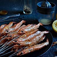柠香盐烤虾#松下烤箱烘焙盛宴#的做法图解11