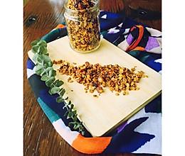 Granola格拉诺拉燕麦(玫瑰红糖)的做法