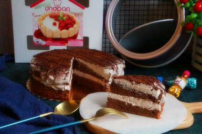巧克力脏蛋糕