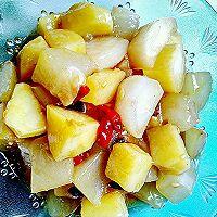 素烧土豆冬瓜(减肥美容佳品)的做法图解5